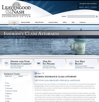www.InsuranceDisputeCounsel.com